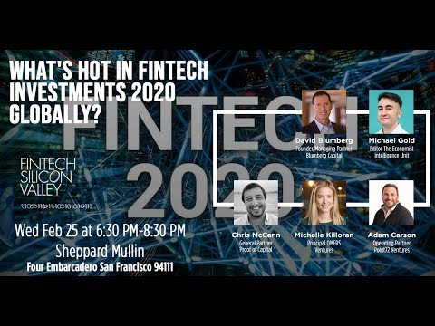 What's Hot in FinTech Investments 2020 Globally?
