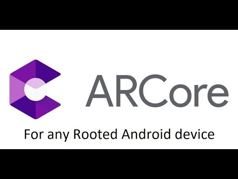 ARCore for any rooted Android smart phone | working on Xiaomi Redmi Note 4