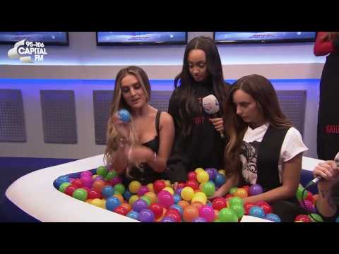 Little Mix Ball Pit Inteview at Capital Jingle Bell Ball