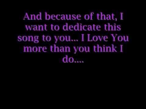 I live my life for you w/ lyrics