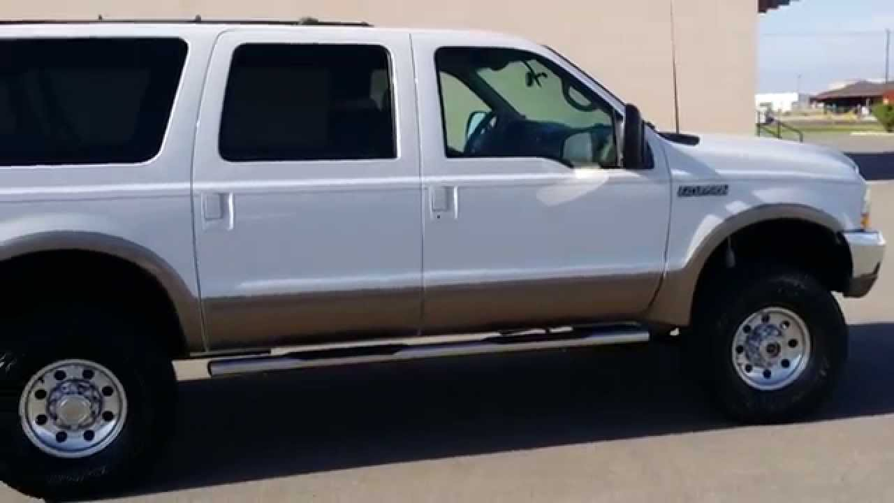 2003 ford excursion manual