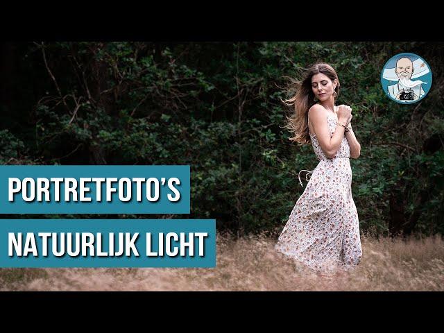 5 Portretfotografie Tips met Daglicht