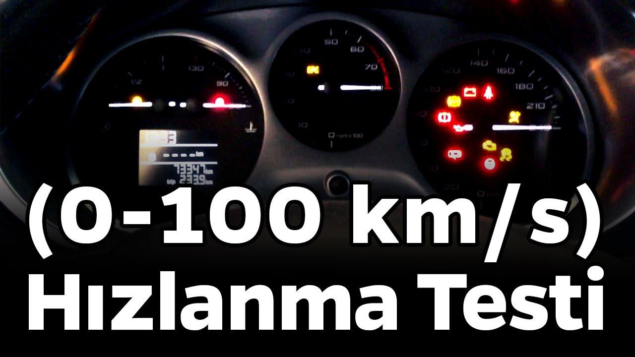 Seat Leon 1P 2011 1.4TSI CAXC 125hp acceleration 0-100km/h