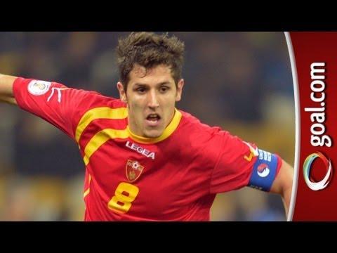 Man City target Jovetic MISSED PENALTY in Ukraine 0-1 Montenegro