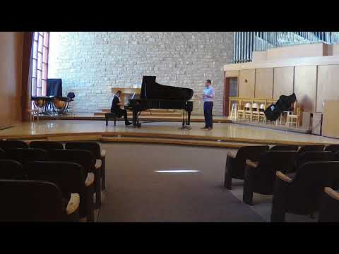 Solo de Councours, Theo Charlier - Live in Recital at Kansas State University