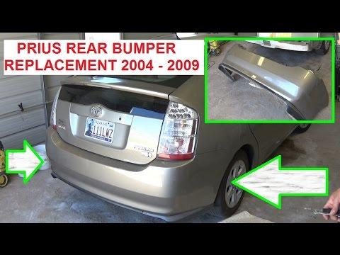prius bumper repair  Toyota Prius Rear Bumper Removal and Replacement. Prius xw20 2004 ...