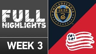 HIGHLIGHTS: Philadelphia Union vs. New England Revolution | March 20, 2016