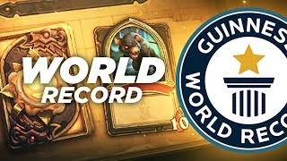 WORLD RECORD DONJON RUN HEARTHSTONE TORLK