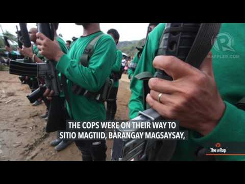 NPA kills Negros city police chief, 6 others