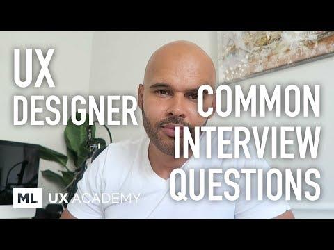 Common UX Designer Interview Questions