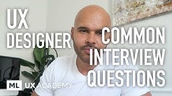 Common UX Designer Interview Questions
