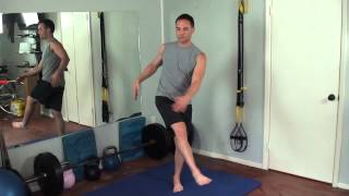 Dynamic stretching and warm up, Workout of the week (WOW), Matt Blackwell