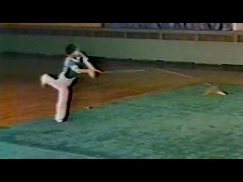 【武術】1976 劉懐亮 (縄鏢) / 【Wushu】1976 Liu Huailiang (Shengbiao /Rope dart)