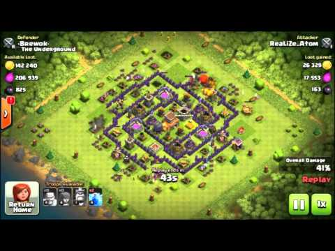 ♦ Video Replay Clash of Clans about illegal bot user still exist again.