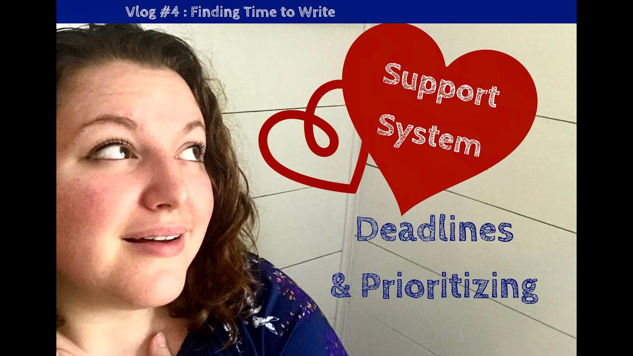 Vlog Episode 4: Finding Time to Write: Deadlines & Prioritizing