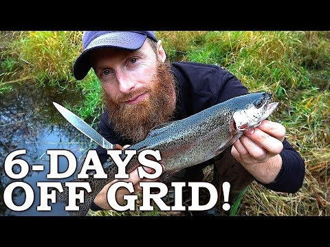 off-grid-cabin-survival-challenge!-(day-2-of-6)-|-catch-and-cook-rainbow-trout