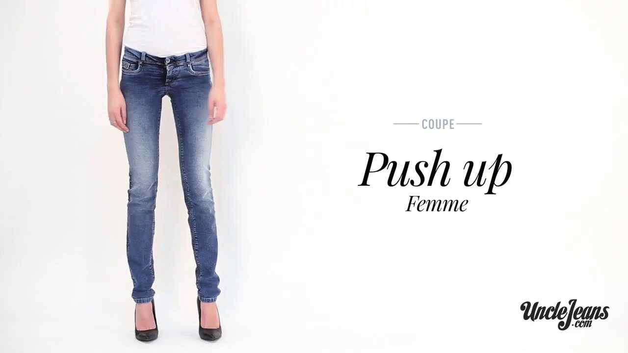 jean push up guide des coupes de jeans femme youtube. Black Bedroom Furniture Sets. Home Design Ideas