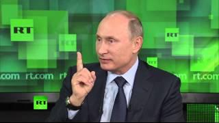 Владимир Путин встретился с журналистами телеканала RT