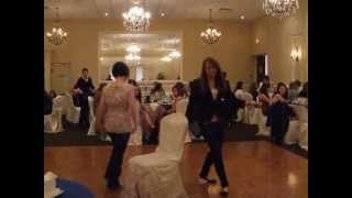 Cindy's Bridal Shower - Musical Chairs Game #2 - The Winning Table!