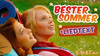 Bibi & Tina | DER BESTE SOMMER jetzt mit LYRICS zum Mitsingen