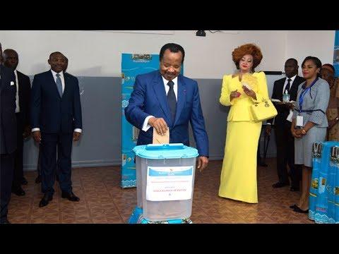 Présidentielle 2018: Vote de S.E.  Paul BIYA le 7 octobre