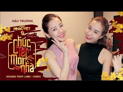 HOÀNG THÙY LINH tận tình hướng dẫn CHI PU trong lần đầu song ca | Hậu trường Gala Nhạc Việt 9