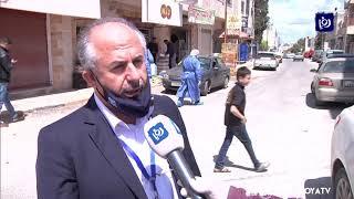 فرق التقصي الوبائي تجري فحوصات عشوائية في بلدة حوارة  - 9-4-2020