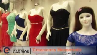 Vestidos de noche Creaciones Monserrath Gamarra