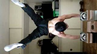 How old am I?Handstand Push Ups