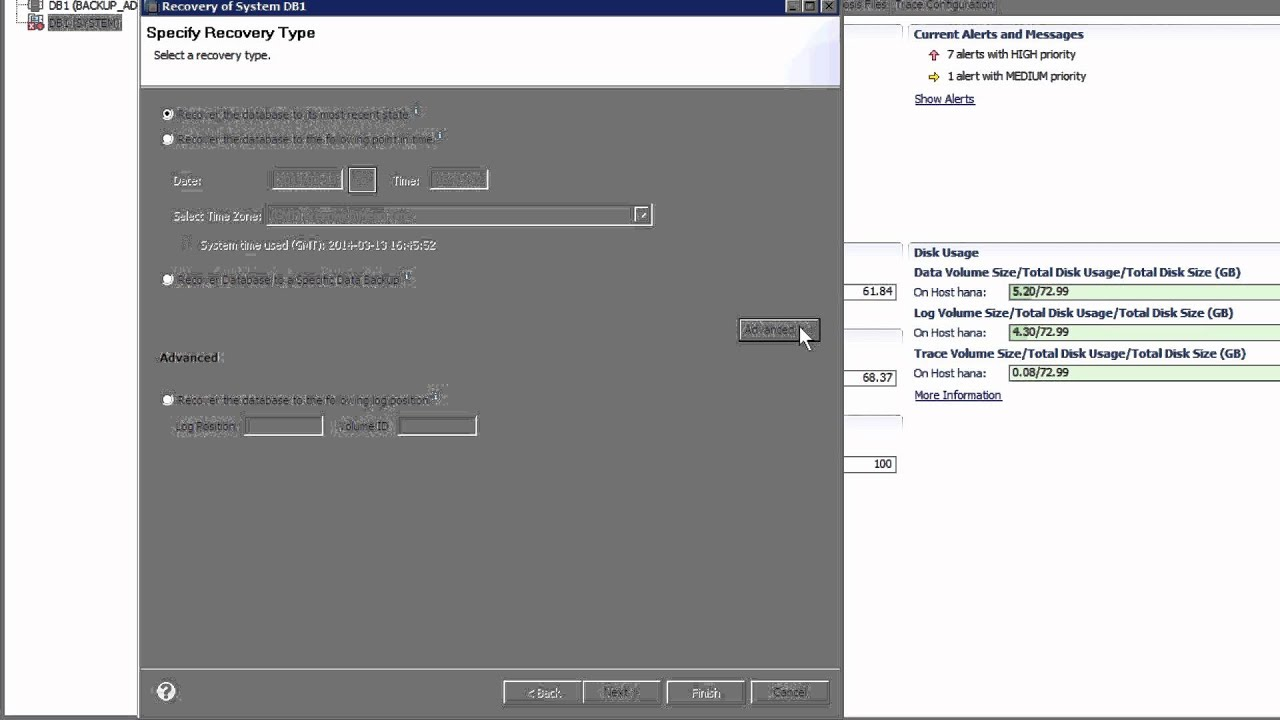 SAP HANA Academy - Backup and Recovery: Restore using SAP HANA ...