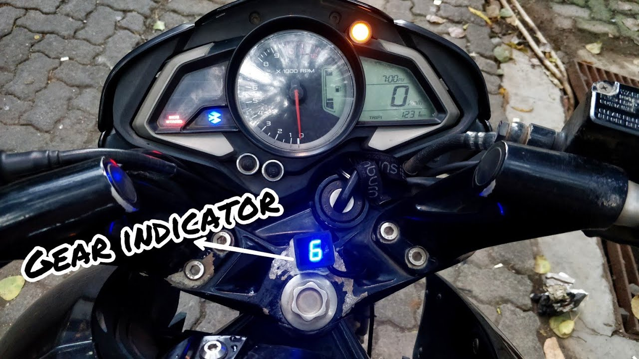Universal Gear Indicator for all motorcycles | Pulsar NS 200