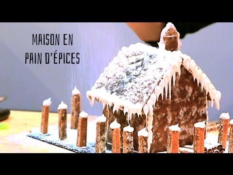 Maison en pain d'épices par Albarock et Claire de Recette Roulette