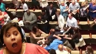 Massive Fight Erupts At High School Graduation! | What's Trending Now!