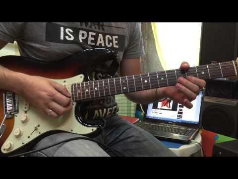 James brown - I feel good (lesson guitar)
