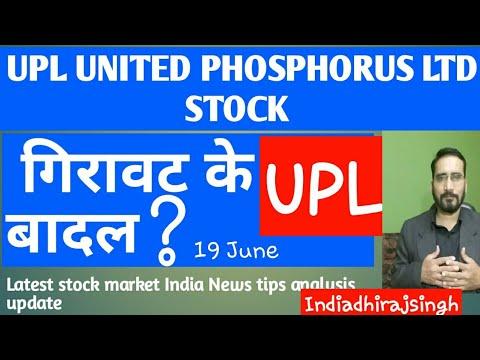 Upl Share Price Latest News Indian Stock Market Upl Analysis À¤— À¤° À¤µà¤Ÿ À¤• À¤¬ À¤¦à¤² Youtube