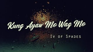 """From Spotify Jams featuring IV of Spades performing """"Kung Ayaw Mo W..."""