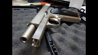 Сборка пистолета ТТК-F, после никелирования.