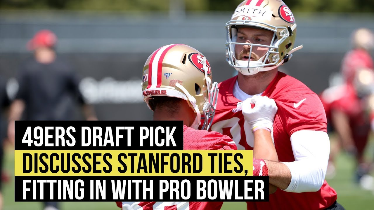 timeless design 481a2 81d1d 49ers draft pick Kaden Smith on Stanford ties and fitting in with George  Kittle