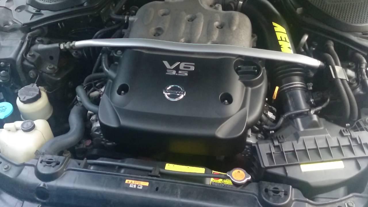 2007 nissan 350z engine specs