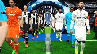 PES 2017 | UEFA Champions League Final | Real Madrid vs Juventus | Gameplay PC