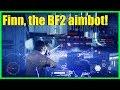 Star Wars Battlefront 2 - Finn is amazing / best gun hero? | The BF2 aimbot hero!