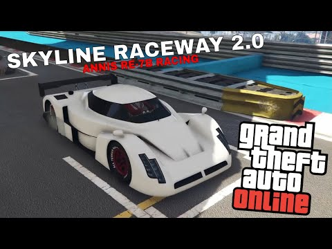 GTA V RACING PS4-SKYLINE RACEWAY 2.0-ANNIS RE-7B RACING