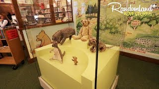 The Original Winnie the Pooh - in NEW YORK CITY!?