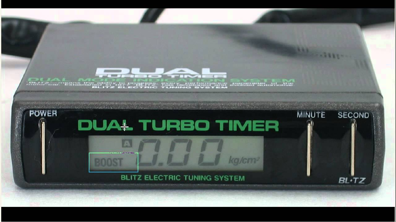 hight resolution of blitz dtt dual turbo timer boost gauge youtube 93 mustang ignition diagram blitz dual turbo timer wiring diagram