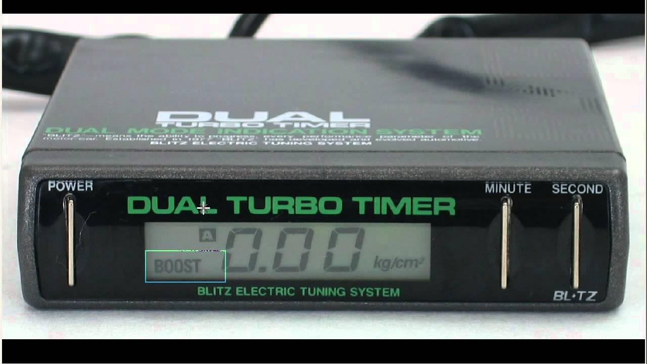 blitz dtt dual turbo timer boost gauge youtube 93 mustang ignition diagram blitz dual turbo timer wiring diagram [ 1280 x 720 Pixel ]