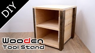 How to make a simple tool stand