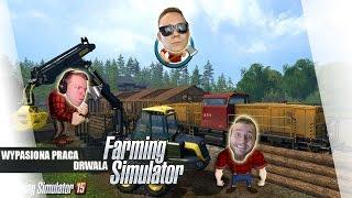 Farming Simulator 2017 PL #7 - Wypasiona Praca Drwala /Diabeuu /Paveł || PlagaLive