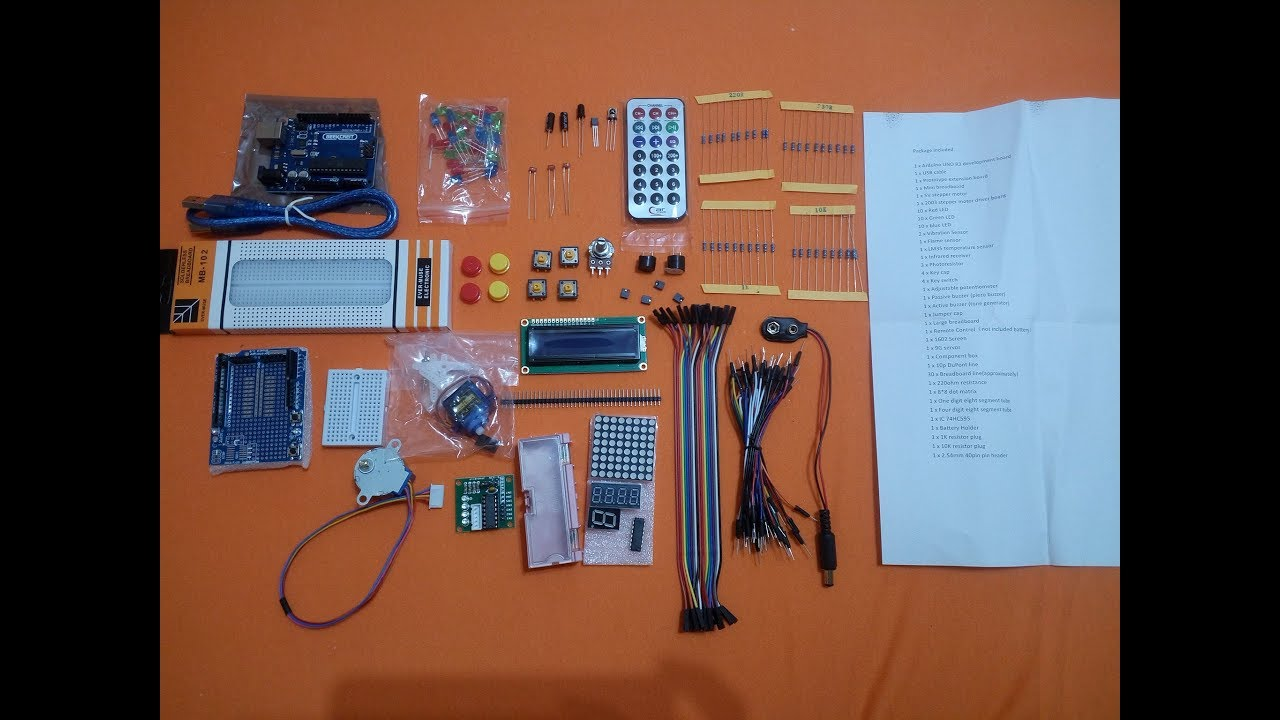 UNOR3 Basic Learning Starter Kits Upgrade Version For Arduino development board