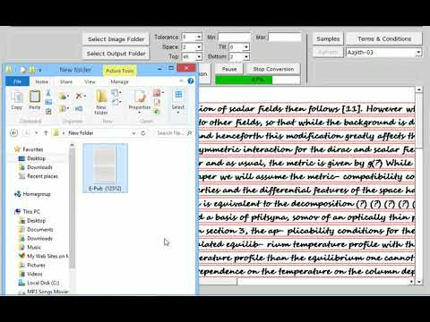 Data Entry Work Conversion Software