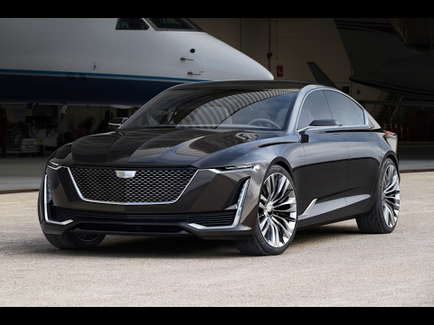 cadillac escala 4k detroit auto show 2017 youtube. Black Bedroom Furniture Sets. Home Design Ideas
